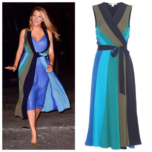 4ca362f00184b Diane Von Furstenberg Dresses & Skirts - Diane von Furstenberg Penelope  Silk Wrap Dress